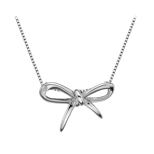 Hot Diamonds Sterling Silver Flourish necklace DP471